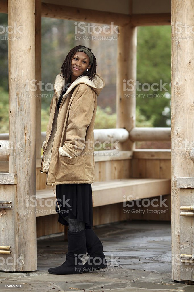Cabin Living royalty-free stock photo