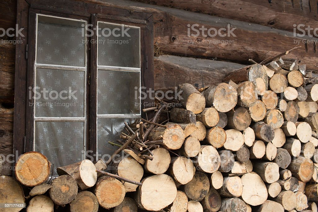 Cabin stock photo