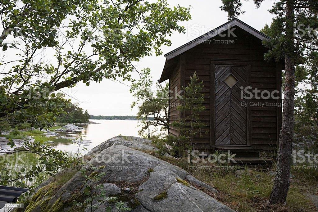 A cabin 免版稅 stock photo