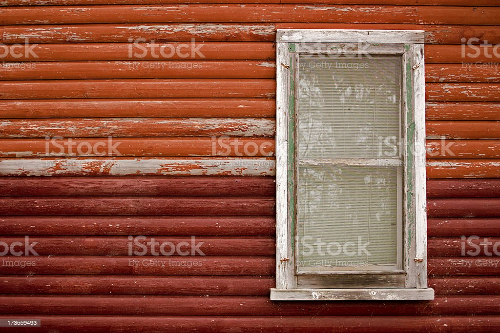 Cabin Window royalty-free stock photo
