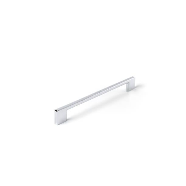 kabinetthandgriffe auf weißem hintergrund - griffe für küchenschränke stock-fotos und bilder