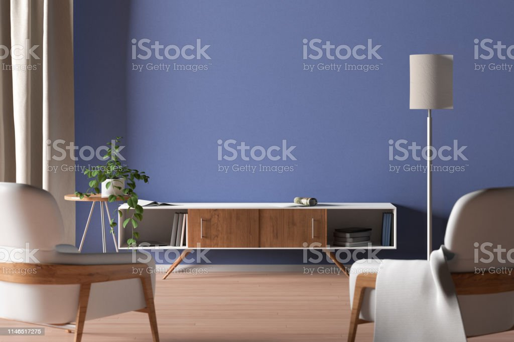 Tv Cabinet In Modern Living Room Stock Photo Download Image Now Istock