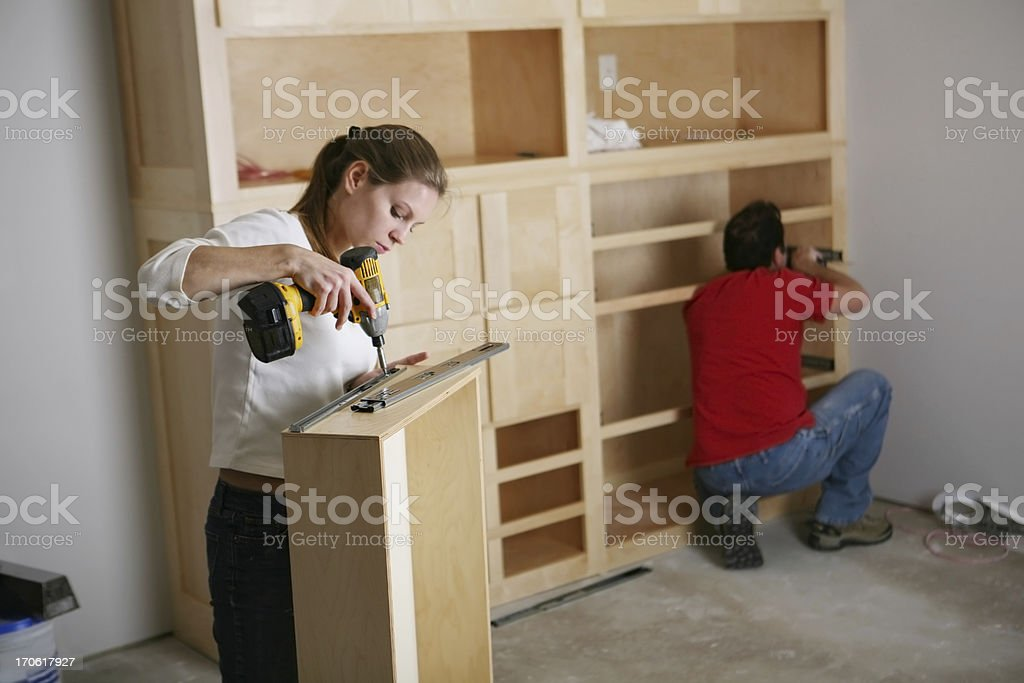Cabinet Makers royalty-free stock photo