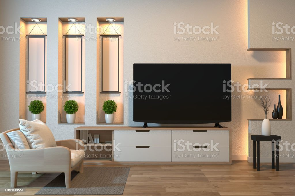 cabinet on zen room interior and shelf wall design hidden light and picture id