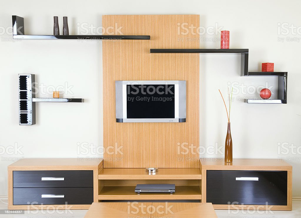 TV Cabinet royalty-free stock photo