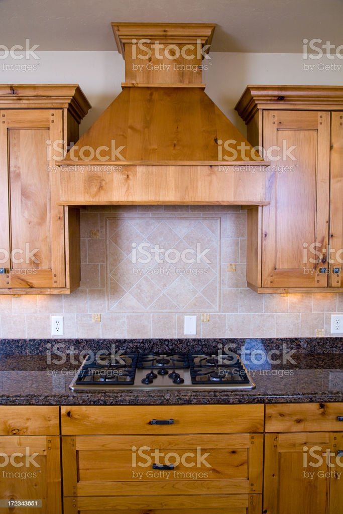 Cabinets and Grill royalty-free stock photo