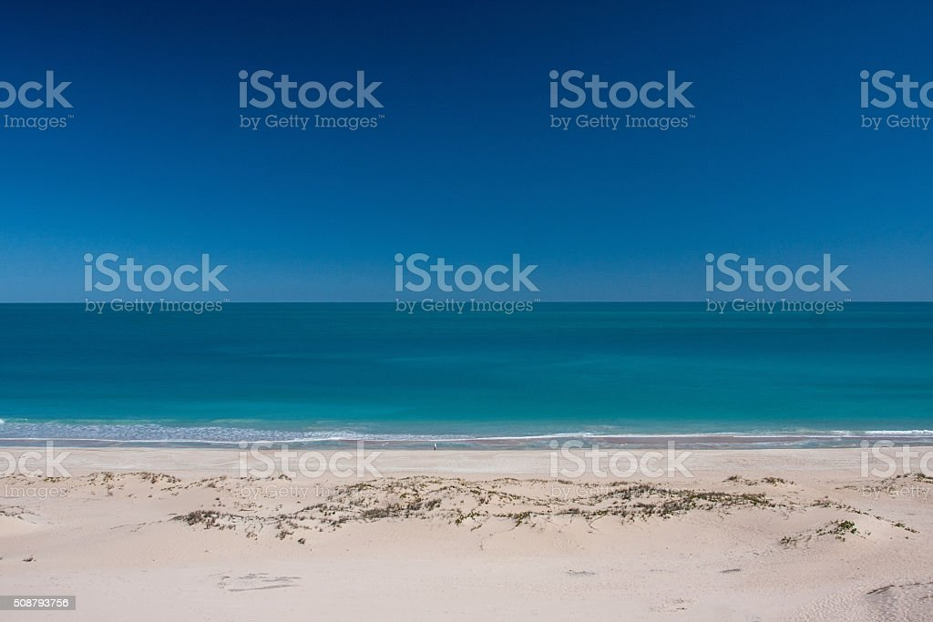 Cable Beach, Broome stock photo