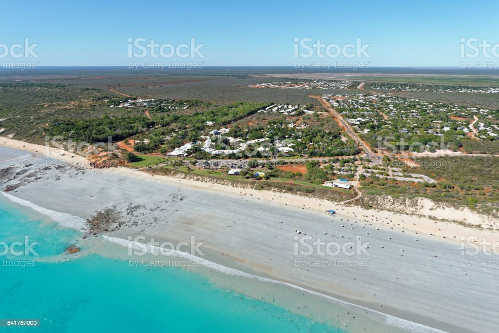 Cable Beach Club looking north-east stock photo
