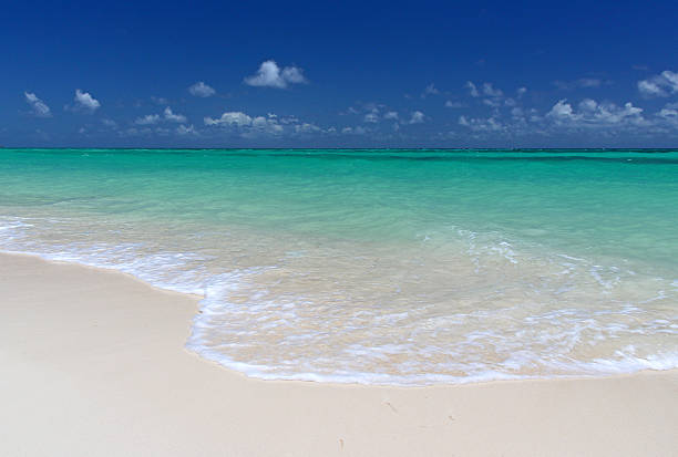 Cable Beach, Nassau stock photo