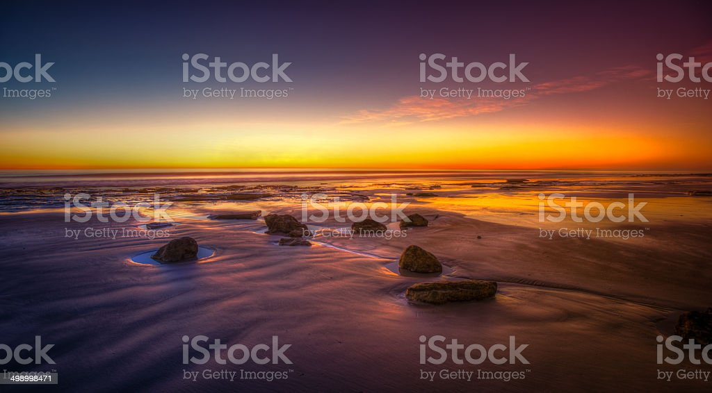 Cable Beach Sunset stock photo