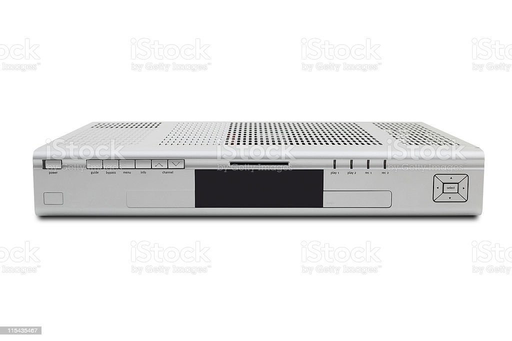 DVR HD Cable Box stock photo