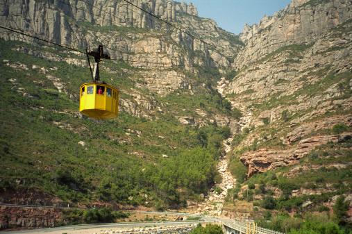 Cable car ascent