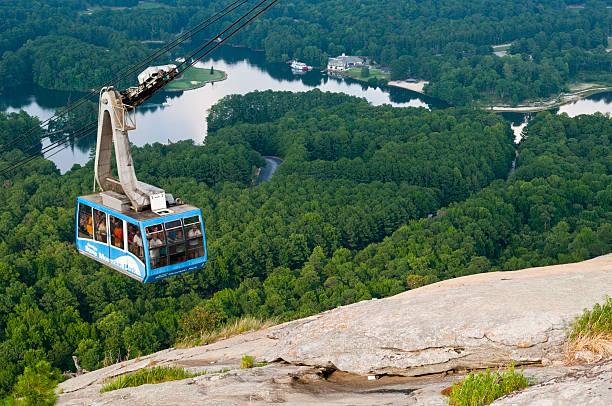 Straßenbahn in Stone Mountain Park – Foto