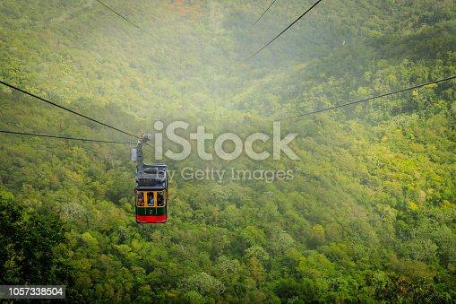 Cable car cabin on Mount Isabel de Torres, Puerto Plata, Dominican Republic