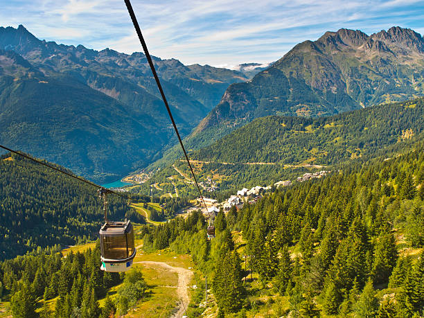 Cable Car French Alps​​​ foto