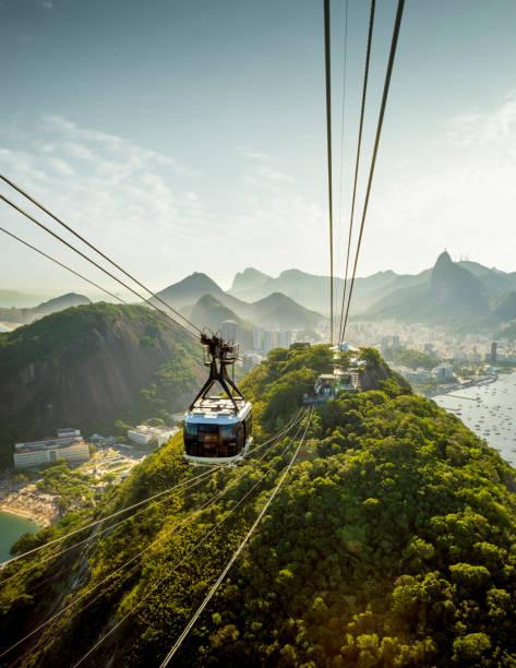 Seilbahn zum Zuckerhut in Rio de Janeiro, Brasilien – Foto