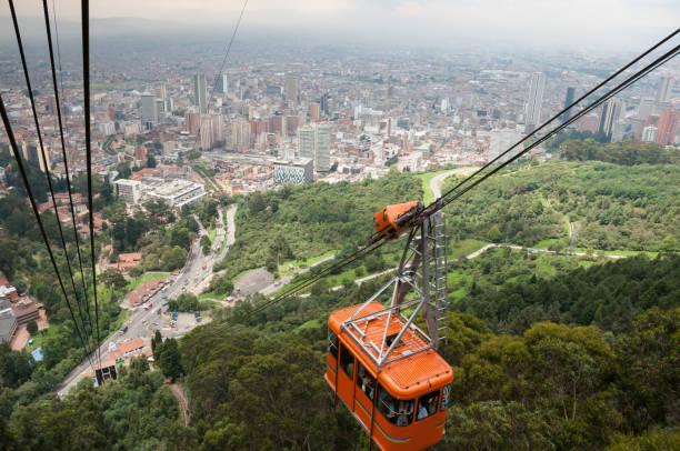 Seilbahn in Bogota. Kolumbien – Foto