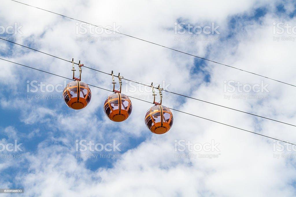Cable Car in Haifa, Israel royalty-free stock photo