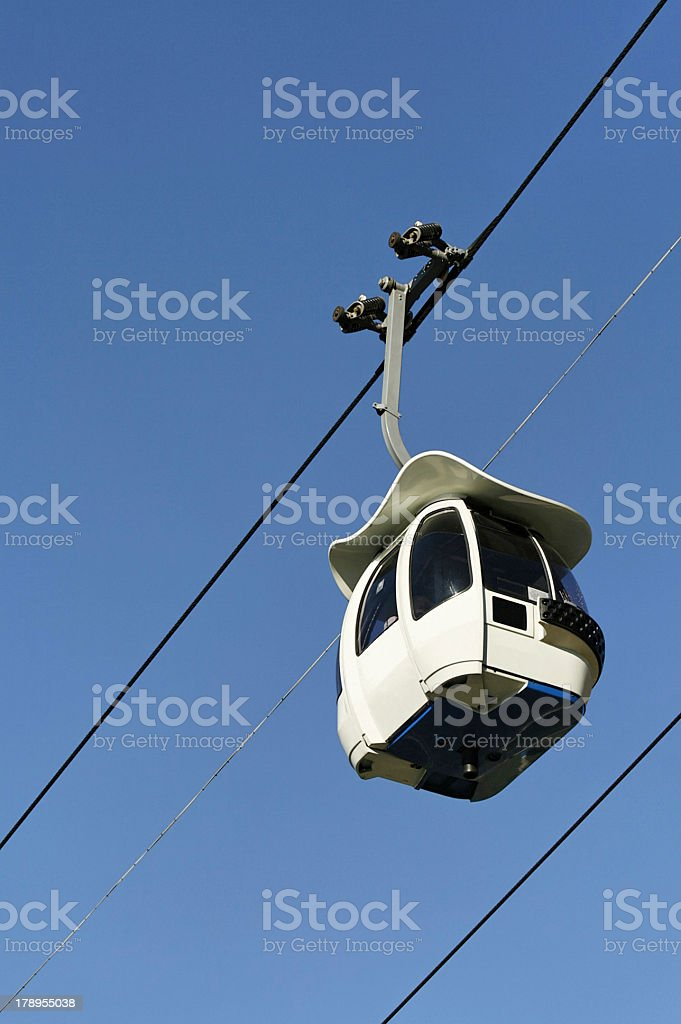 Cable car. royalty-free stock photo