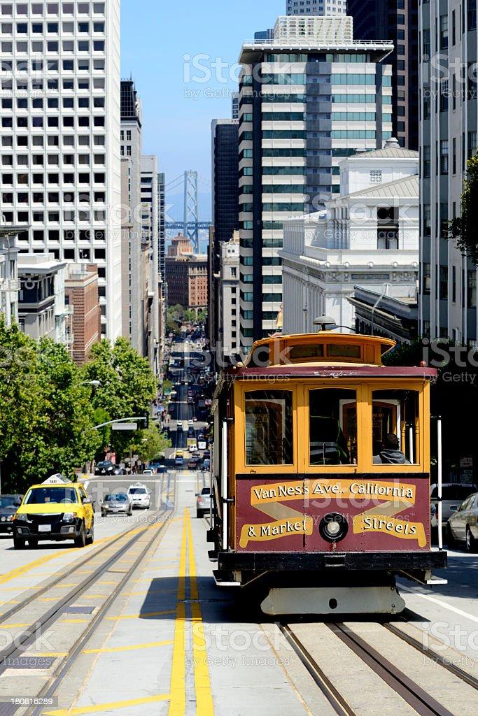 Cable Car, San Francisco. royalty-free stock photo