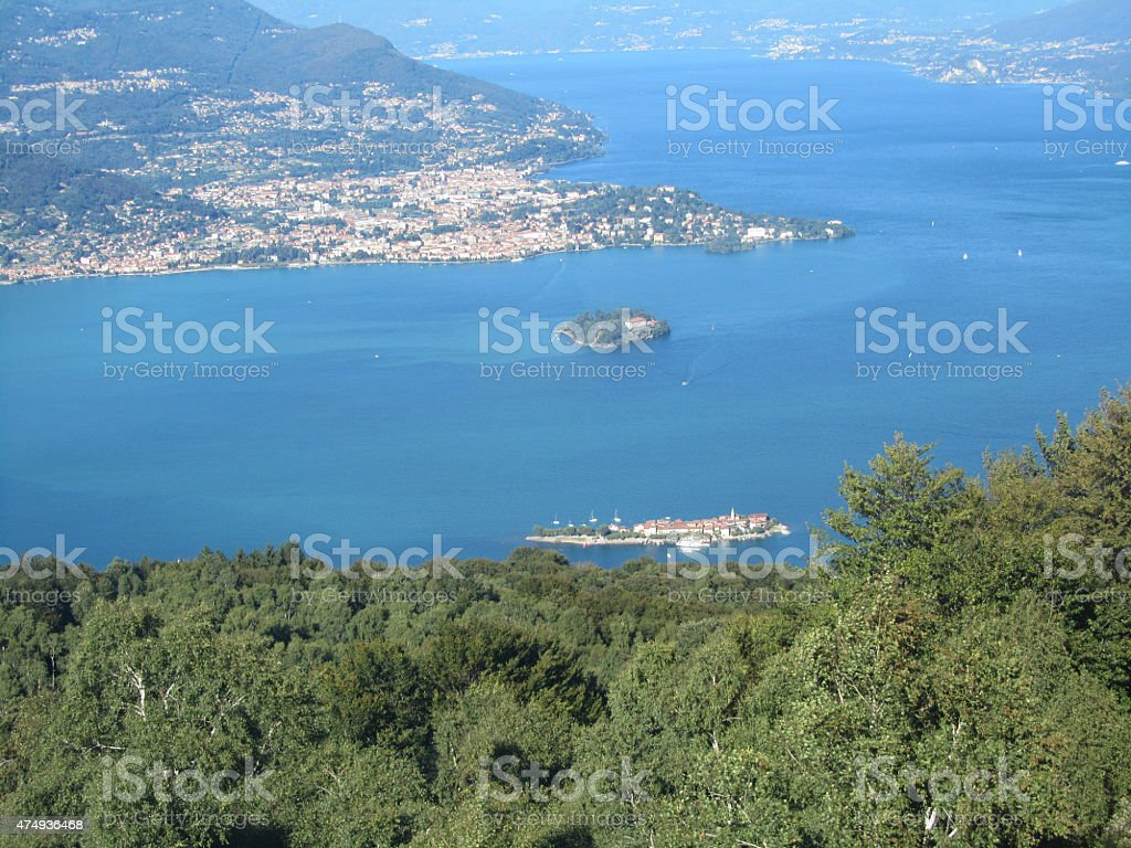 Tram Viaggio Da Mottarone A Stresa Il Lago Maggiore Fotografie Stock E Altre Immagini Di 2015 Istock