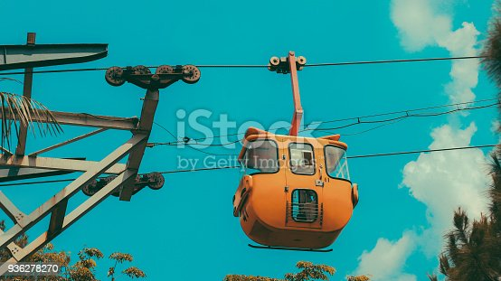 istock A Cable Car with Sky on the Background 936278270