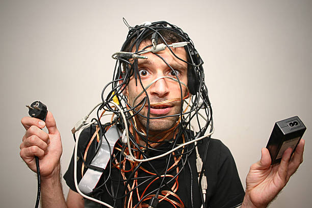 cable guy  telephone line stock pictures, royalty-free photos & images