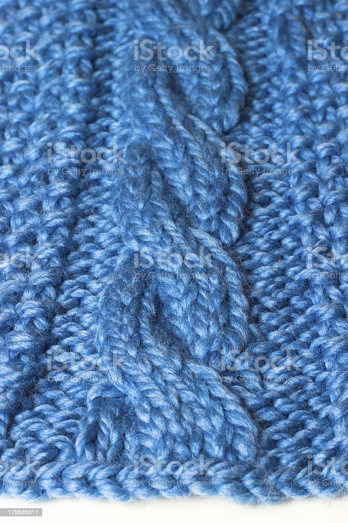 Cable Knit royalty-free stock photo