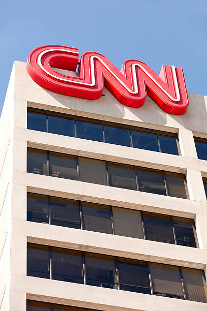 Cable News Network (CNN) stock photo