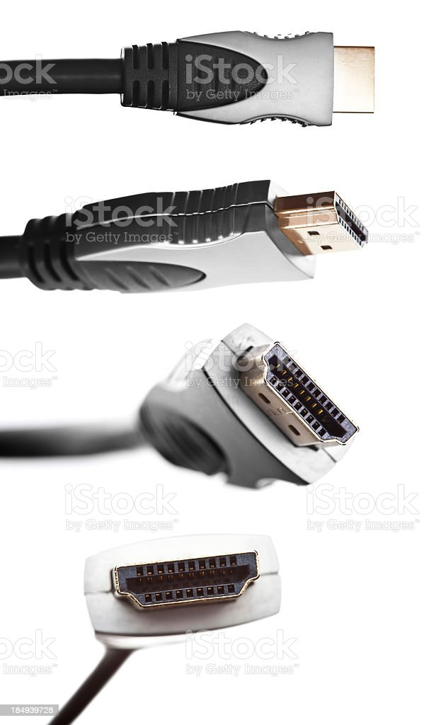 HDMI cable stock photo