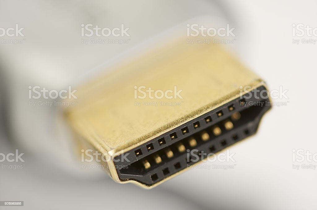 HDMI Cable royalty-free stock photo
