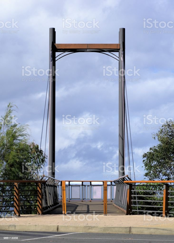 Cable pier in Australia - Royalty-free Austrália Foto de stock