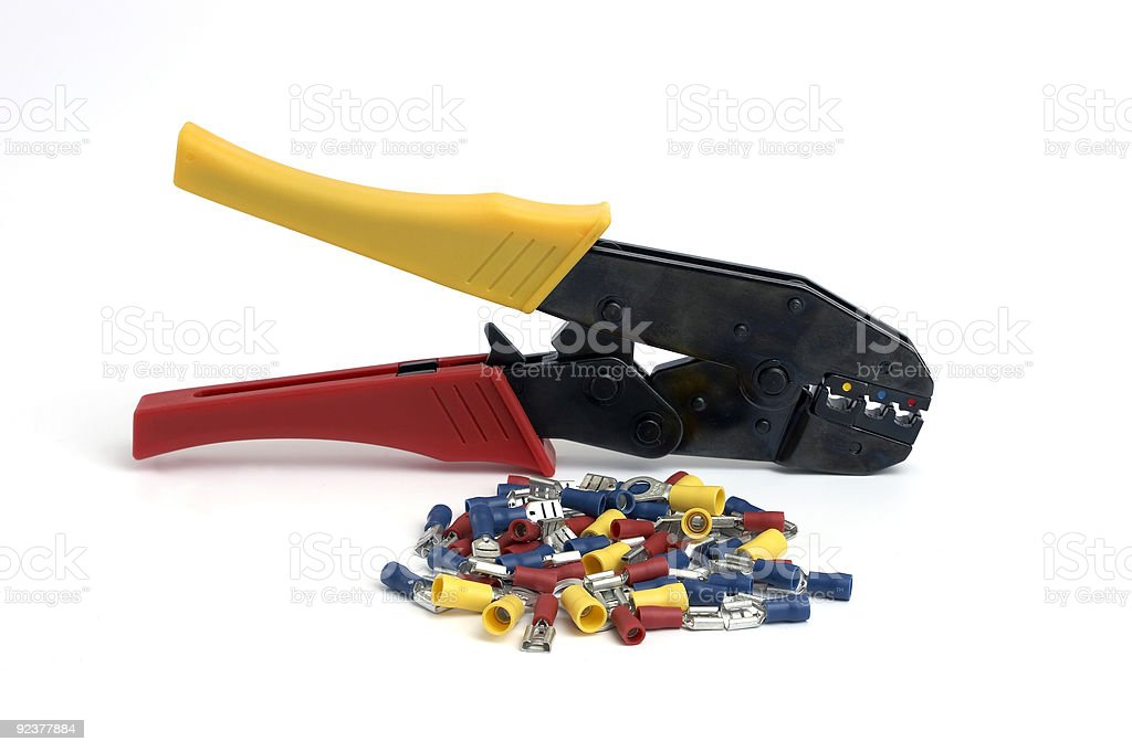 Cable pliers royalty-free stock photo