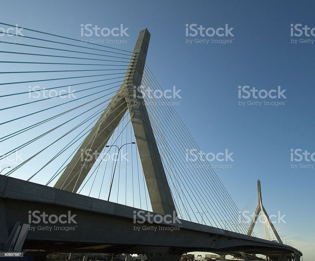 Cable Stay Bridge royalty-free stock photo