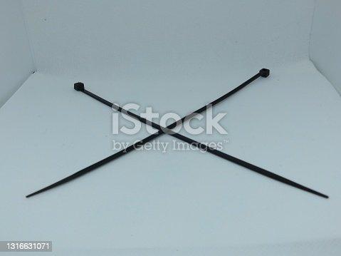 istock Cable tis cross mark 1316631071
