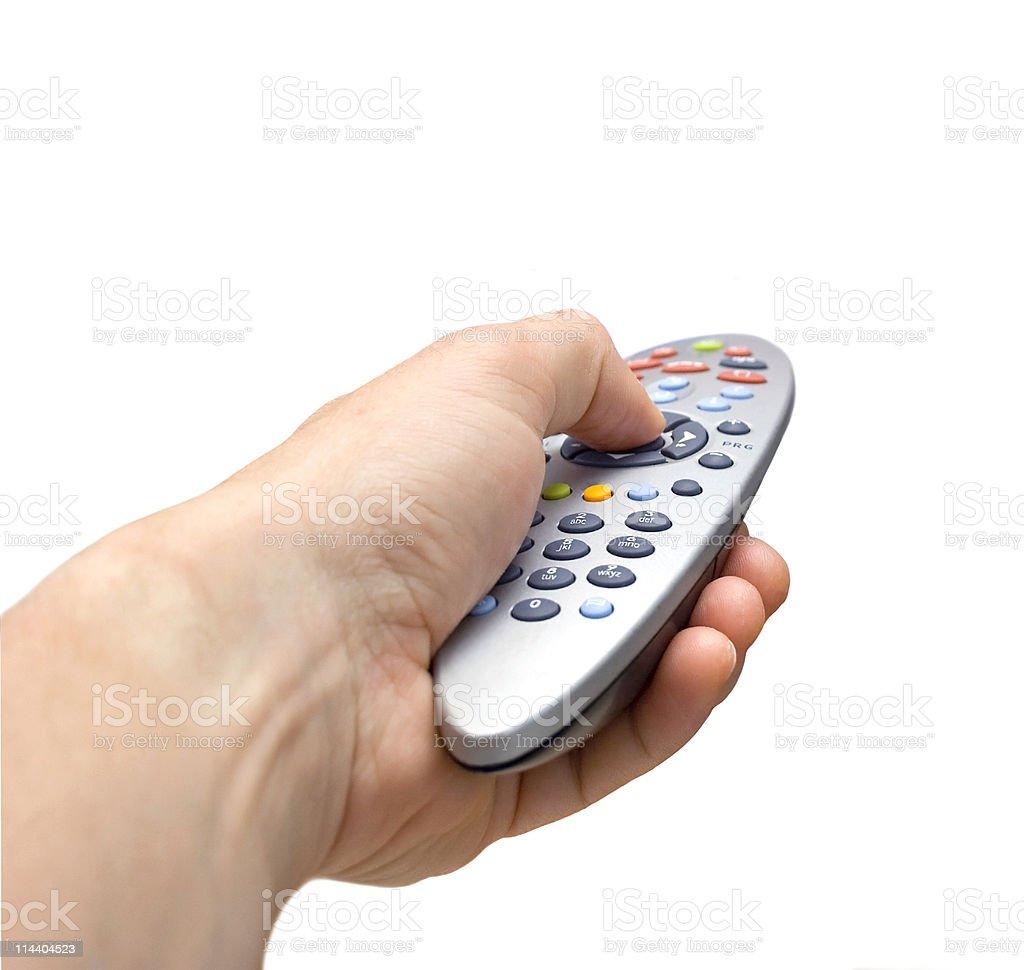 Cable TV Remote stock photo