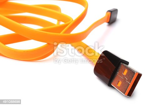 istock Cable USB 491088698
