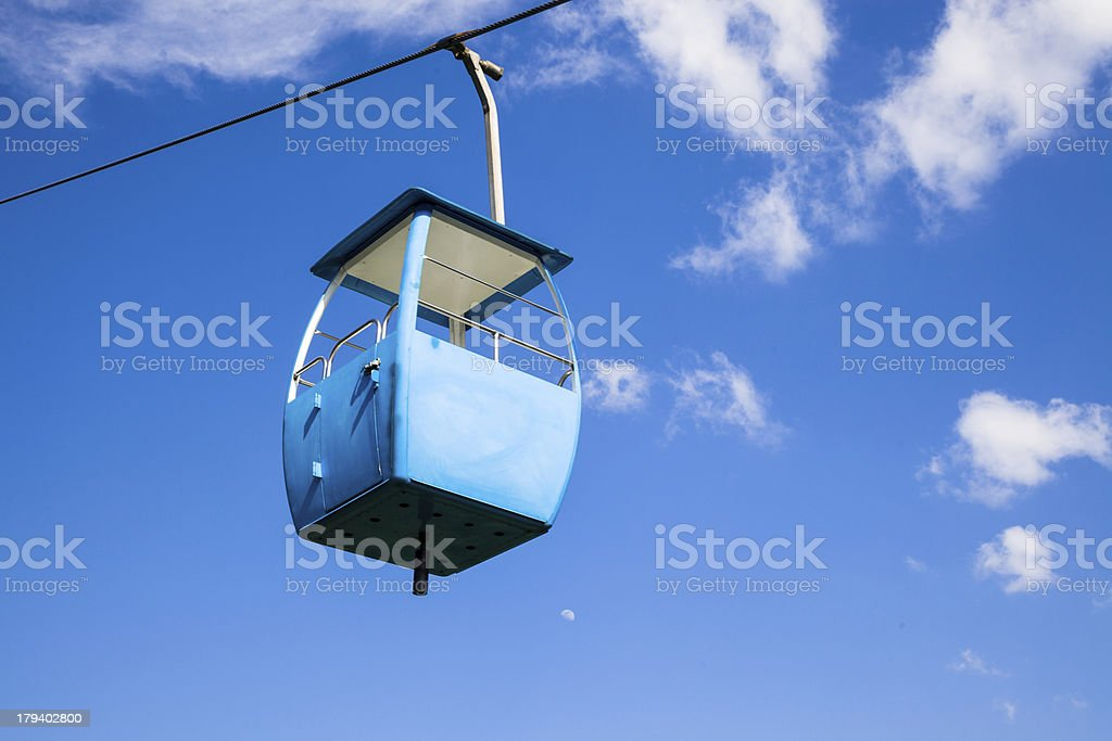 cable way royalty-free stock photo