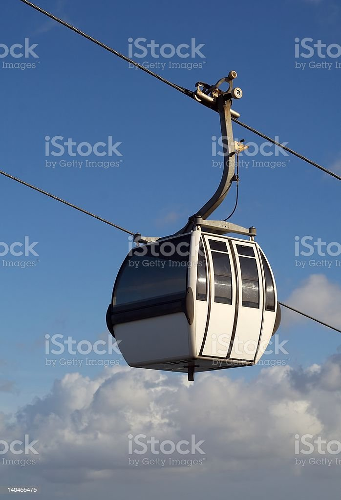 Cable-car royalty-free stock photo