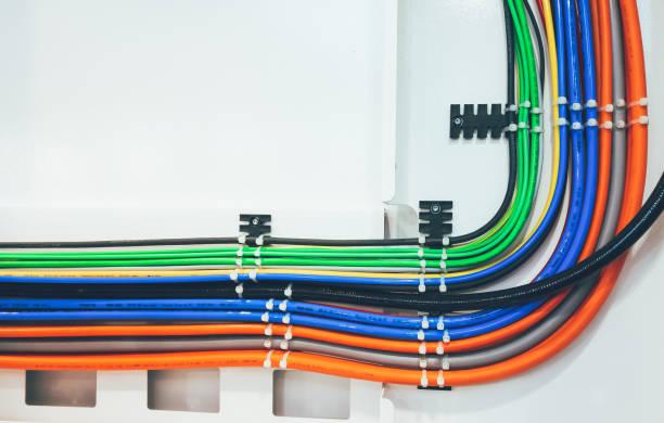 kabel - metalldraht stock-fotos und bilder