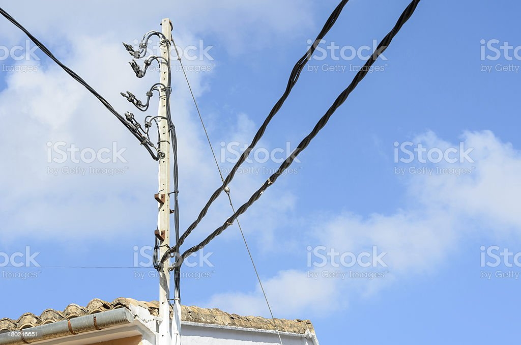 cables stock photo