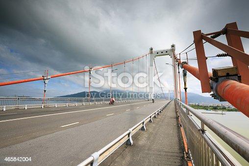 156725382 istock photo Cable-stayed bridge 465842004