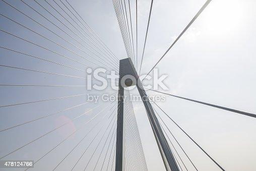 156725382 istock photo Cable-stayed bridge 478124766