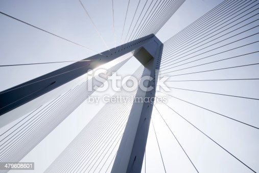 istock Cable-stayed bridge 479608601