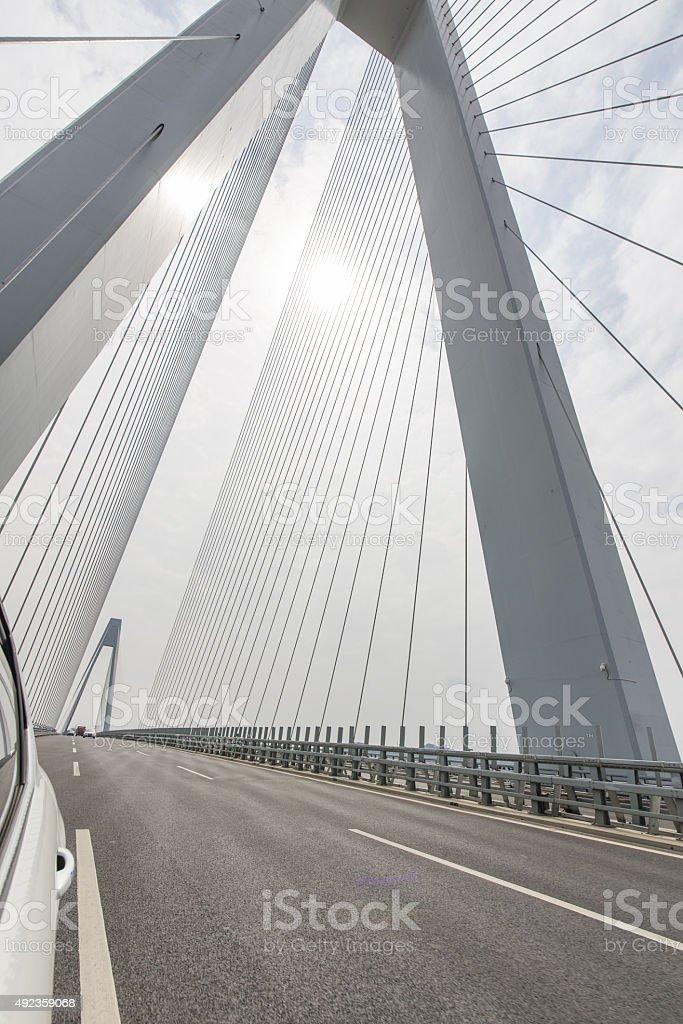 Cablestayed Bridge stock photo 492359068 | iStock