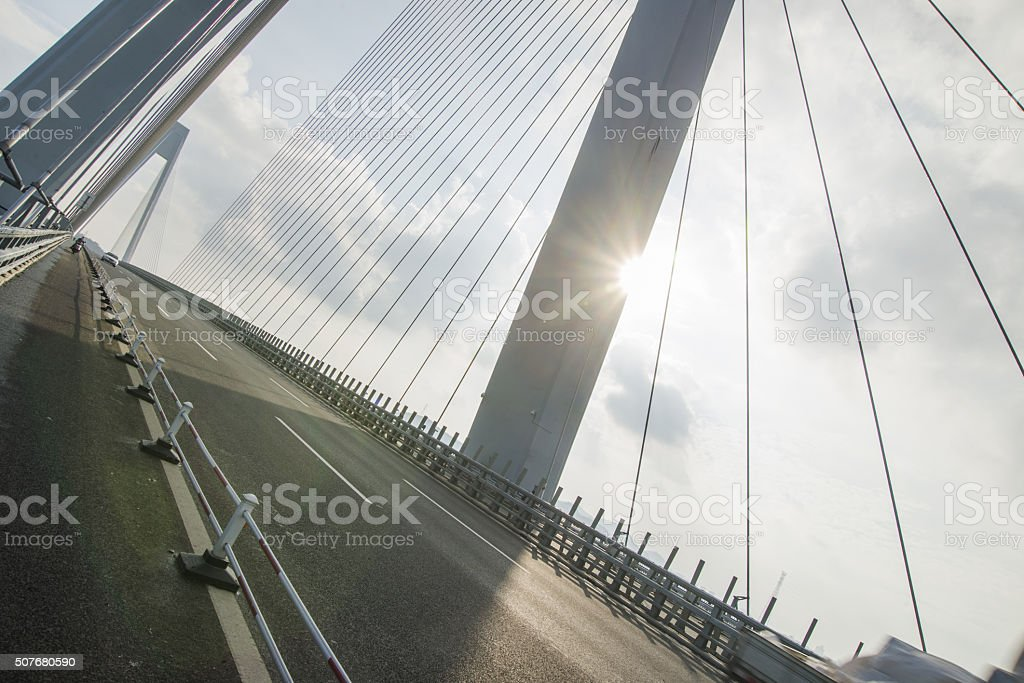 Cablestayed Bridge stock photo | iStock