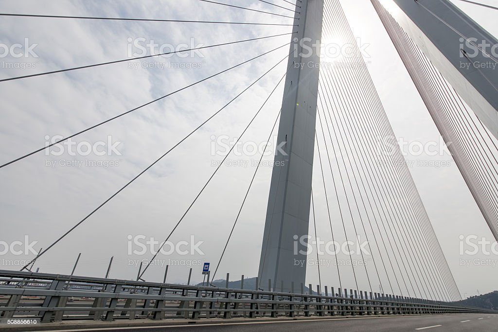 Cablestayed Bridge Stock Photo & More Pictures of Achievement | iStock