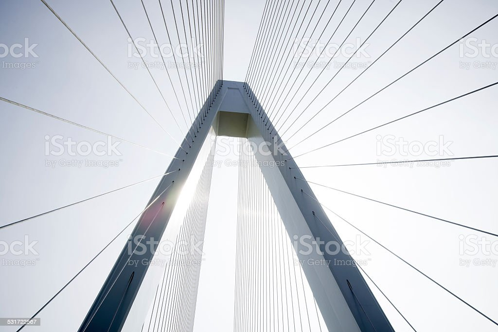 Cablestayed Bridge Stock Photo & More Pictures of 2015 | iStock