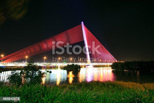 156725382 istock photo Cable-stayed bridge Tran Thi Ly-Da NanC 465840578
