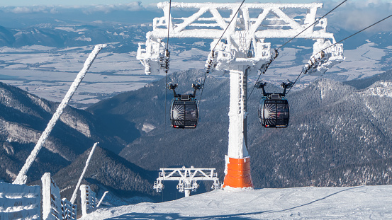 istock Cableway in Low Tatras, Slovakia 508704688